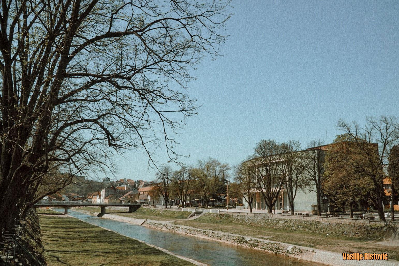 Panorama grada Valjeva