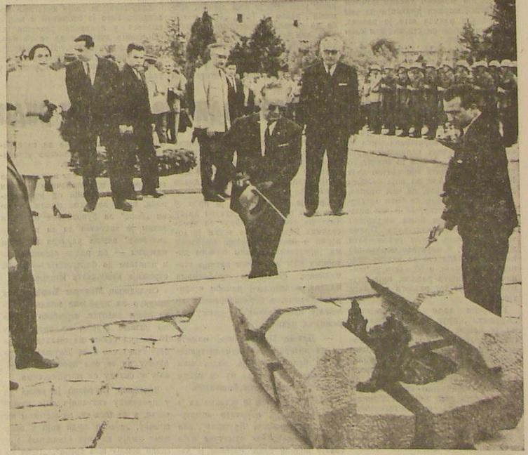 Valjevskaposla 18 maj 1967 tito