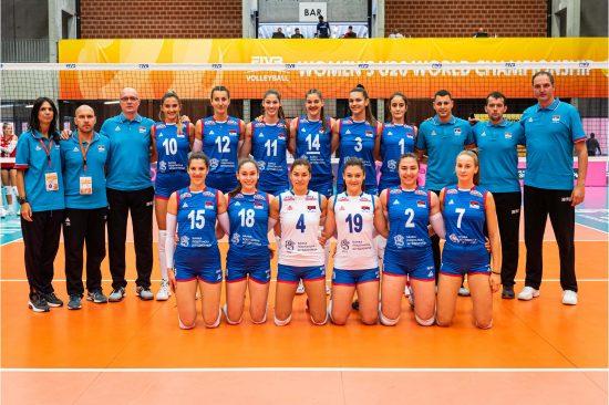 Juniorska reprezentacjia Srbije na SP u odbojci scaled